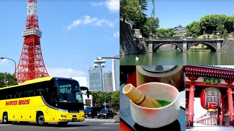 外国人向け はとバス一日ツアー「Tokyo Aladdin (東京アラジン)」
