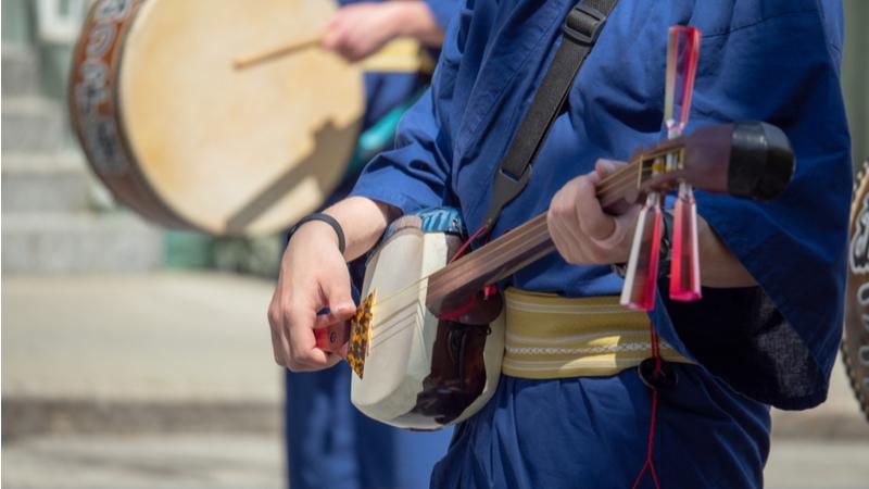 琉球三線楽器保存・育成会創立30周年記念 沖縄が誇る 家宝の三線展