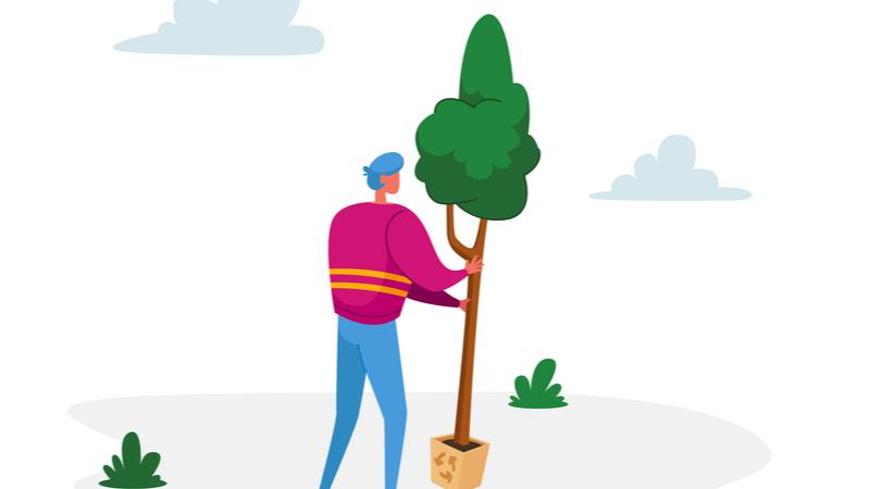 令和3年用国土緑化運動・育樹運動ポスター原画《作品募集》